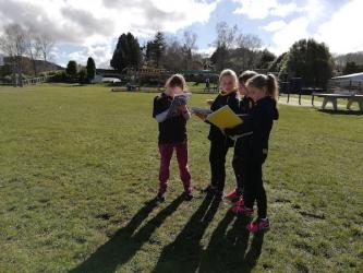 Mapping the school grounds