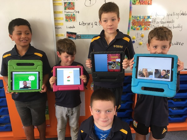 Using book creator for our inquiry 4