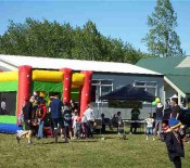 Bouncy castle Pet Day 2015 opt