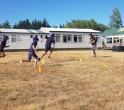 Running skills Athletics training Sprints and long distance 01
